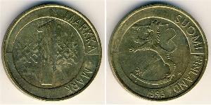 1 Mark Finlandia (1917 - ) Alluminio/Bronzo