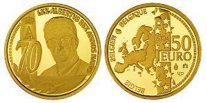 50 Euro Bélgica Oro