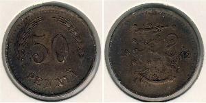 50 Penny Finlande (1917 - ) Bronze