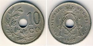 10 Сантім Бельгія Нікель/Мідь