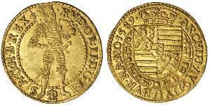 1 Ducat Austria  Gold Rudolf II, Holy Roman Emperor (1552 - 1612)