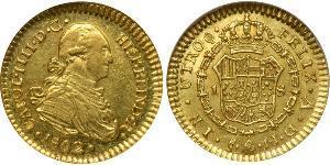 1 Escudo Chile Gold Karl IV (1748-1819)