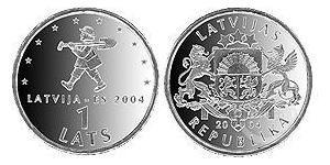 1 Lats Latvia (1991 - )