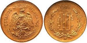 10 Centavo Mexique (1867 - ) Bronze