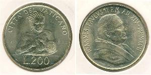 200 Lira Vatikan (1926-)