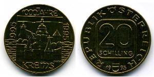 20 Shilling 奥地利 铝/镍/銅