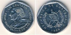 1 Centavo 危地马拉 镍/銅