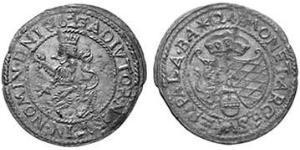 24 Kreuzer Geschichte Bayerns (907 - 1623) Silber Maximilian I. (Bayern)(1573 – 1651)