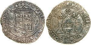 8 Real Virreinato de Nueva España (1519 - 1821) Plata Carlos V, Emperador del Sacro Imperio Romano (1500-1558)