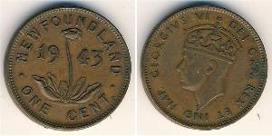 1 Cent Neufundland und Labrador Bronze Georg VI (1895-1952)
