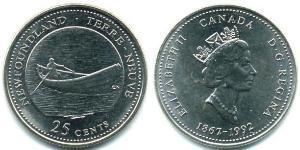 25 Cent Canada Acciaio