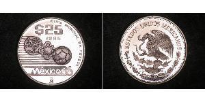 25 Peso Messico Argento