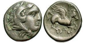 Drachm Antikes Griechenland (1100BC-330) Silber