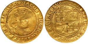 1 Crown Königreich England (927-1649,1660-1707) Gold Jakob I (1566-1625)