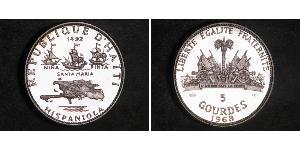 5 Gourde Haiti Argento