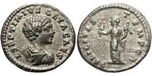 1 Denario Impero romano (27BC-395) Argento Geta (189-211)