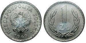 1 Zloty Pologne