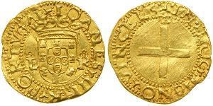 1 Cruzado  Royaume de Portugal (1139-1910) Or John III of Portugal (1502-1557)