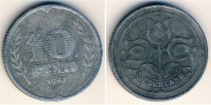 10 Cent Reino de los Países Bajos (1815 - ) Zinc