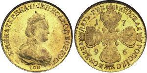 5 Rouble Empire russe (1720-1917) Or Catherine II (1729-1796)