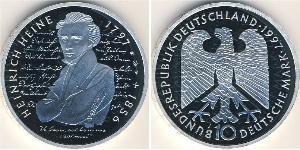 10 Mark Germany Silver