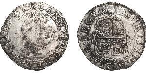 Shilling Kingdom of England (927-1649,1660-1707) Silver James I (1566-1625)