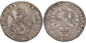 1 Талер Габсбурзька імперія (1526-1804) Срібло Фердинанд I імператор Священної Римської імперії (1503-1564)