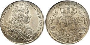 1 Riksdaler Швеція Срібло Фредерік I (король Швеції) (1676 -1751)
