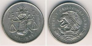 25 Centavo Messico (1867 - ) Rame/Nichel
