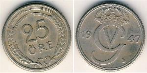 25 Ore Sweden Bronze/Nickel