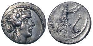Denarius 罗马共和国 (509 BC - 27 BC) 銀