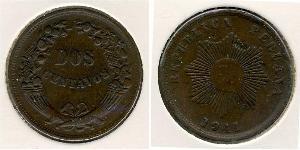 2 Centavo Perù Rame