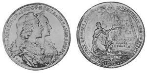 5 Ducat Elettorato di Baviera (1623 - 1806) Oro Massimiliano III di Baviera(1727 – 1777)