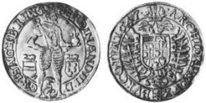 2 Ducat Sacro Romano Impero (962-1806) Oro