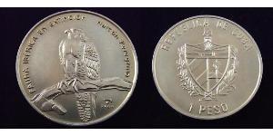 1 Peso Cuba Cobre/Níquel