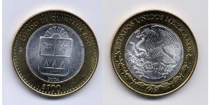 100 Peso Mexique (1867 - ) Bilame