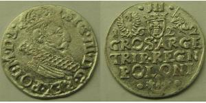 3 Grosh Polish-Lithuanian Commonwealth (1569-1795) 銀