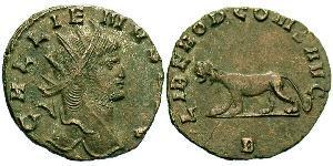 1 Antoninian Römische Kaiserzeit (27BC-395)  Gallienus (218-268)