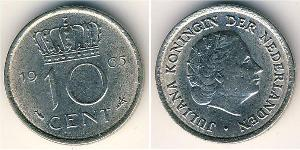 10 Cent Kingdom of the Netherlands (1815 - )