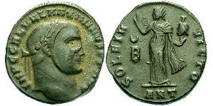 1 Фолліс Римська імперія (27BC-395) Бронза Максимін II (270 - 313)