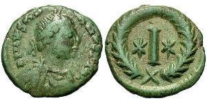 Decanummium Byzantinisches Reich (330-1453) Bronze Justinian I (482-565)