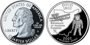 1/4 Dollar 美利堅合眾國 (1776 - ) 銀 乔治·华盛顿