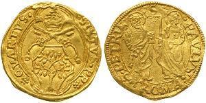 1 Ducat Stato Pontificio (752-1870) Oro Papa Sisto IV (1414-1484)