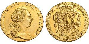 1/4 Guinea Kingdom of Great Britain (1707-1801) Gold George III (1738-1820)