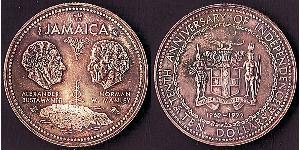 10 Dollar Jamaika (1962 - ) Silber