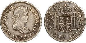 1 Real 玻利維亞 / 拉普拉塔总督辖区 (1776 - 1814) 銀 费尔南多七世 (1784 - 1833)