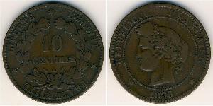 10 Sent Troisième République (1870-1940)  Bronze