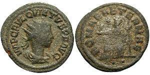 1 Antoninianus 羅馬帝國  Quietus (?-261)