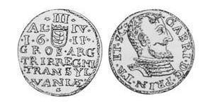 3 Groschen 外西凡尼亞公國 (鄂圖曼帝國) (1570 - 1711) 銀