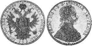 4 Ducat Kaisertum Österreich (1804-1867) Gold Franz Joseph I (1830 - 1916)